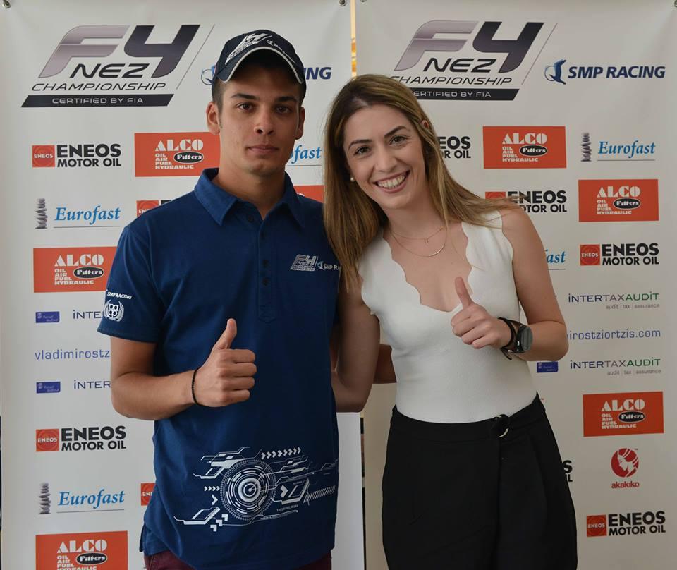Το ClearmindPro εύχεται καλή επιτυχία στον αθλητή της Formula 4, Βλαδίμηρο Τζιωρτζή