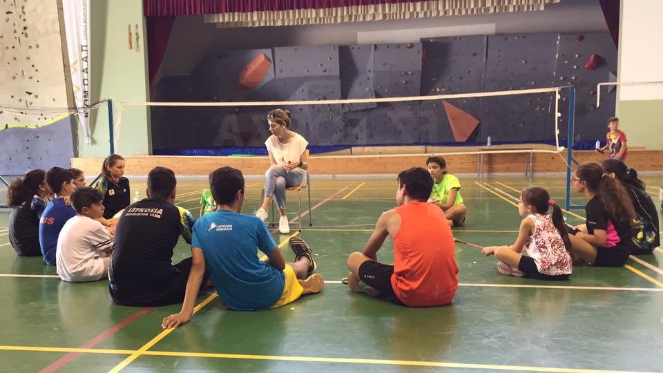Με επιτυχία ολοκληρώθηκε η επίσκεψη στο Lefkosia Badminton Club από την Αθλητική Ψυχολόγο του ClearMindPro