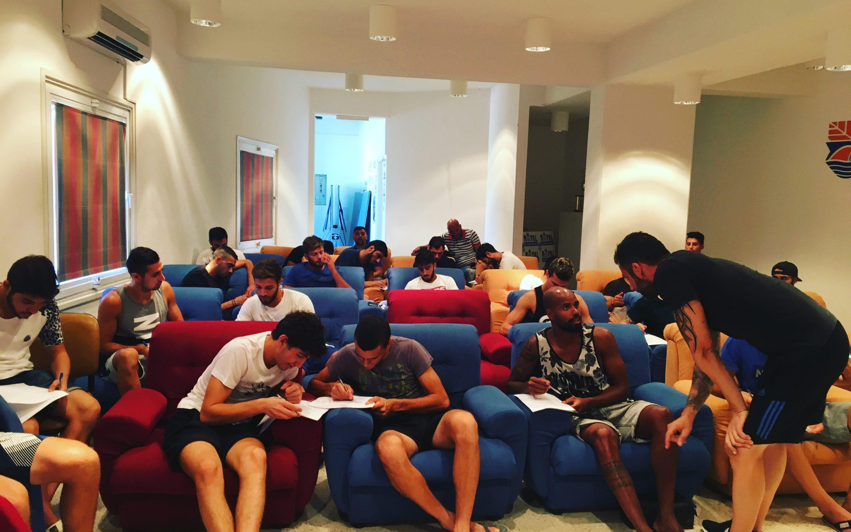 Παρουσίαση Αθλητικής Ψυχολογίας στην Ποδοσφαιρική ομάδα της Ένωσης Νέων Παραλιμνίου