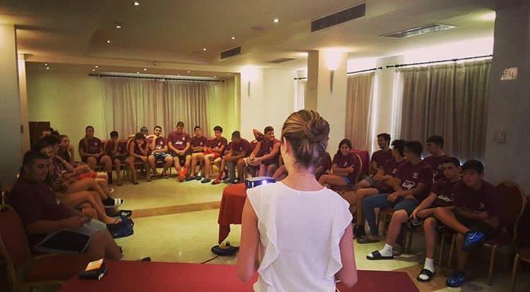 Με επιτυχία ολοκληρώθηκε οι επισκέψεις στο Moufflons Invitational Basketball Camp από την Αθλητική Ψυχολόγο του ClearMindPro