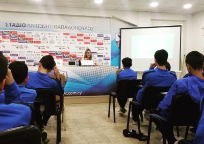 anorthosis amochostou sport psychology session