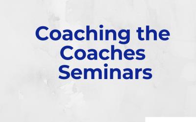 Coaching the Coaches Seminars – Πρακτικά Σεμινάρια Αθλητικής Ψυχολογίας