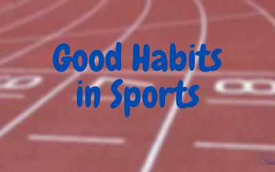 Πως ένας αθλητής χτίζει σωστές και καλές συνήθειες και πως αυτές οι συνήθειες μπορούν να επηρεάσουν την απόδοση;